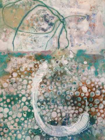 Mysterious Ocean with... by  Tracy Kay Felix - Masterpiece Online