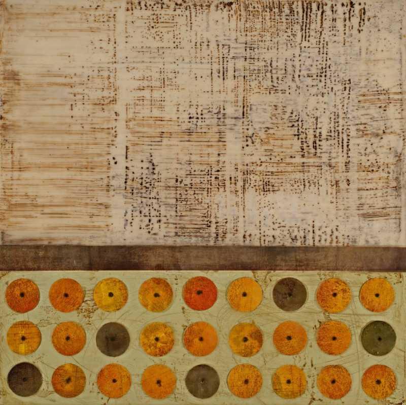 Orange Assembly by  Alison Golder - Masterpiece Online