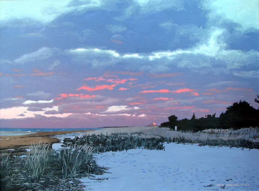 South Shore, Winter by  Ovid Ward - Masterpiece Online