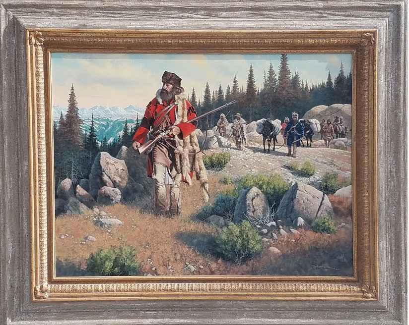 The Mountain Brigade by  Richard Luce - Masterpiece Online