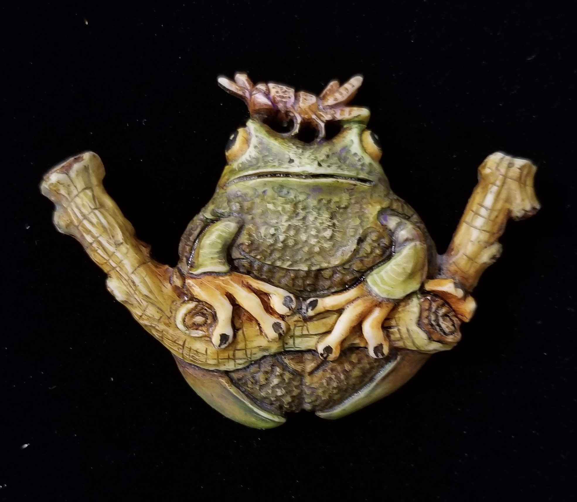 Frog Finesse by  Susan Tereba - Masterpiece Online