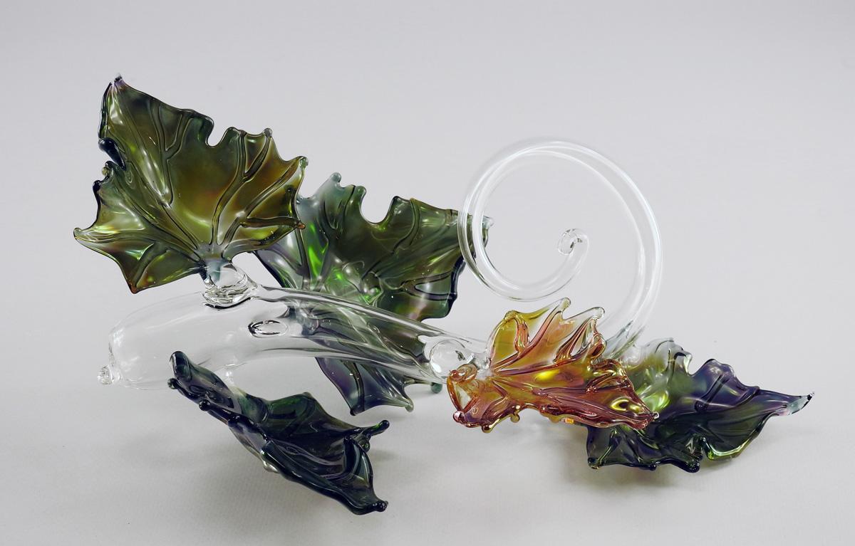 Quintuple Leaf Sculpt... by  Jacqueline Mc Kinny - Masterpiece Online