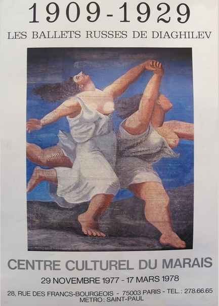 1909-1929 - Ballets R... by  Pablo Picasso - Masterpiece Online