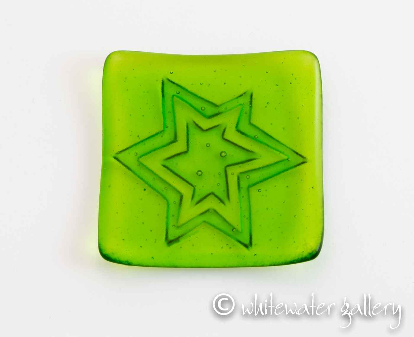 Texture Dish Star Gre... by  David Pascoe - Masterpiece Online