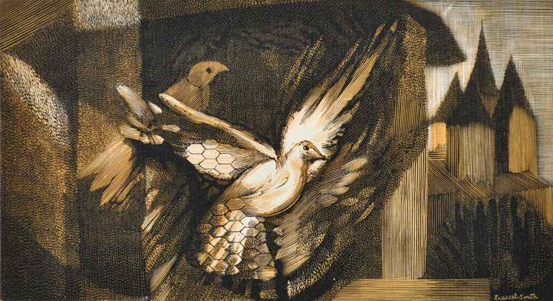 Doves by  Bernard Brussel-Smith (1914-1989) - Masterpiece Online