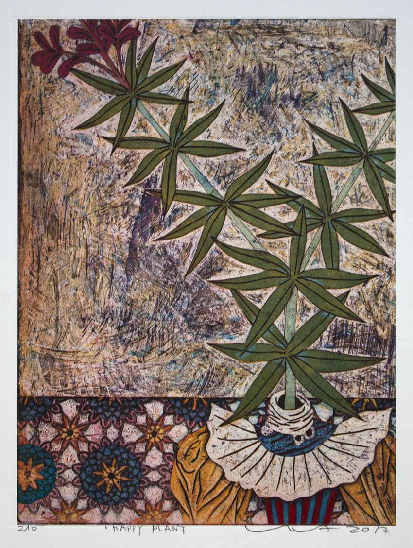 Happy Plant by  Yuji Hiratsuka - Masterpiece Online