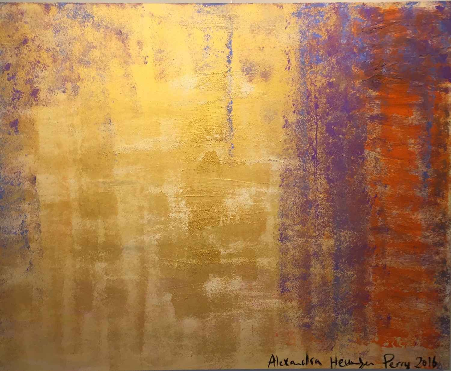Gold Sky 1 by  Alexandra HEUMBER PERRY - Masterpiece Online