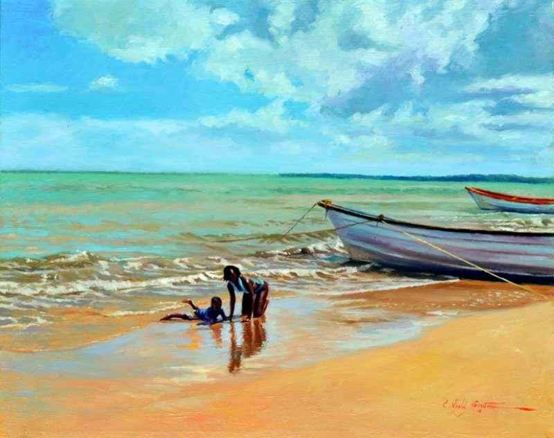 Slippery Sand by  Colin Bootman - Masterpiece Online