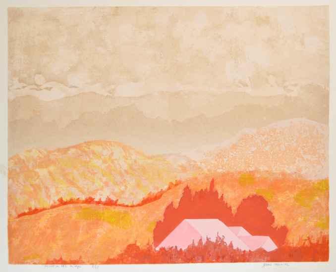 Mist on the Ridge by  Jane Kraike (1910-1991) - Masterpiece Online