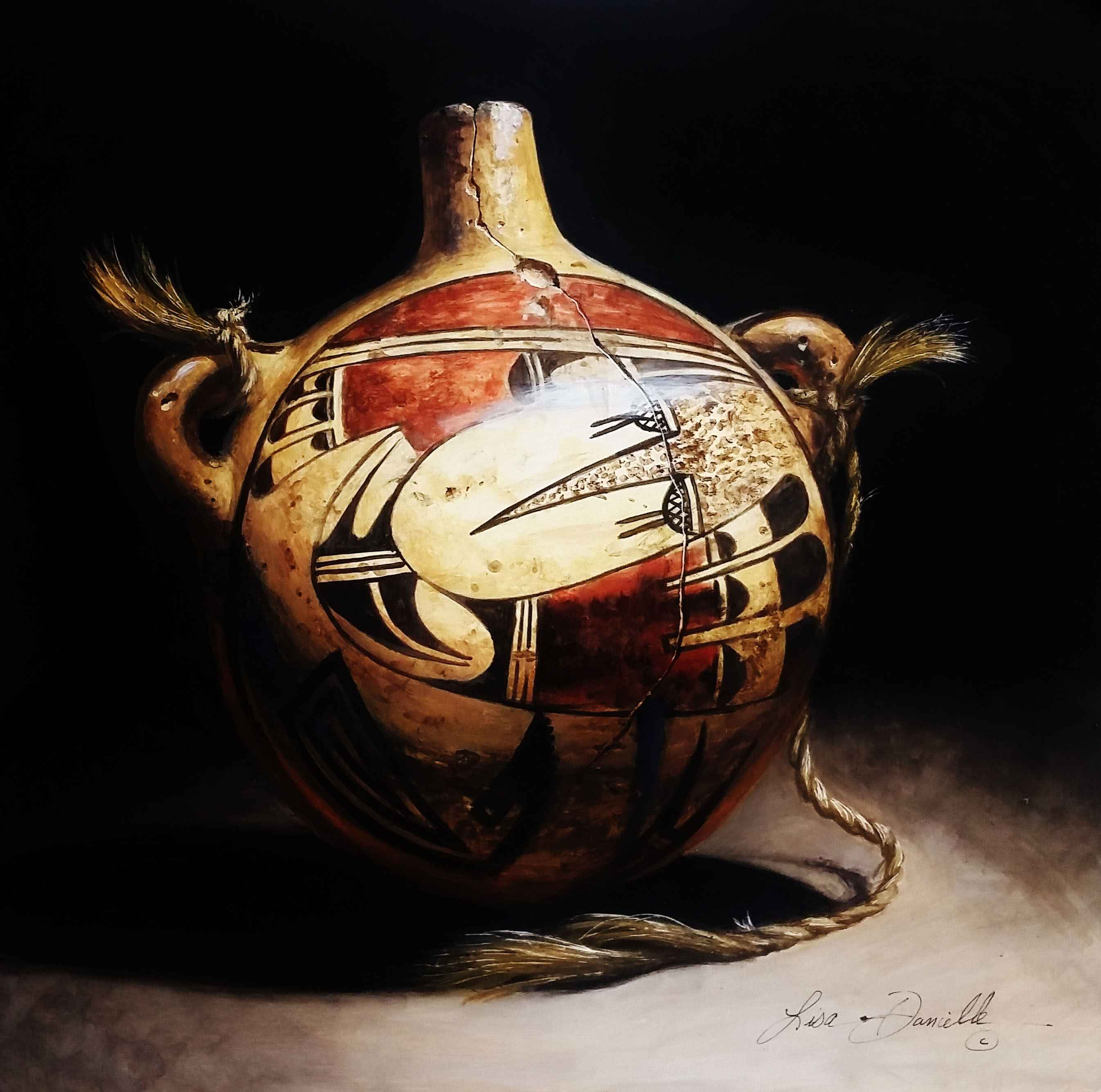 Ancient Water Keeper-... by  Lisa Danielle - Masterpiece Online