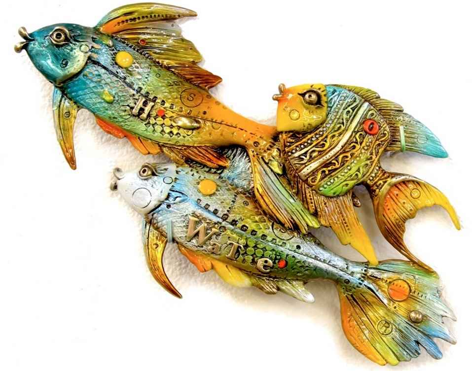 Fishies (going left) by  Nano Lopez - Masterpiece Online