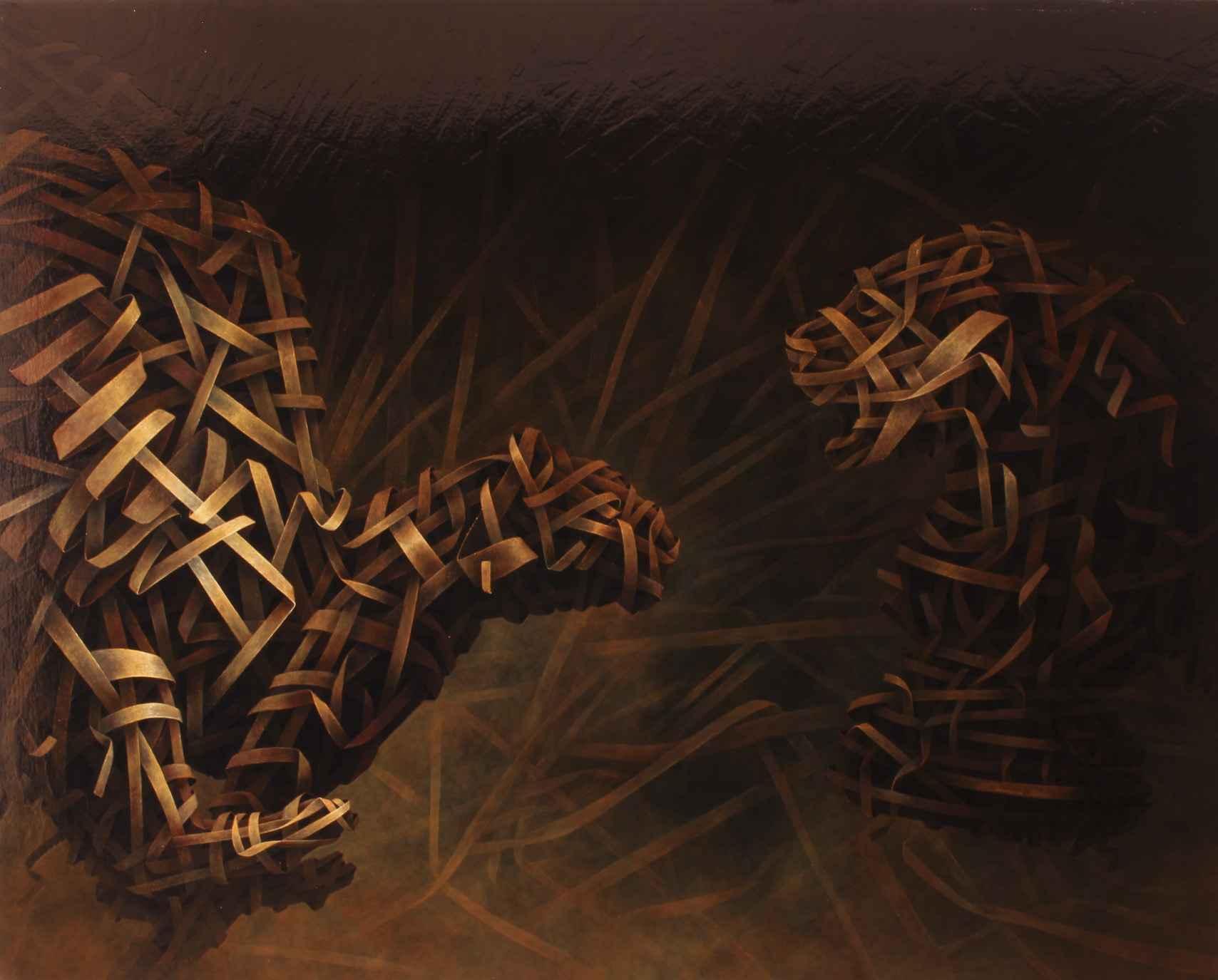 Lioness Mirror 2 by  Ilie Vaduva - Masterpiece Online