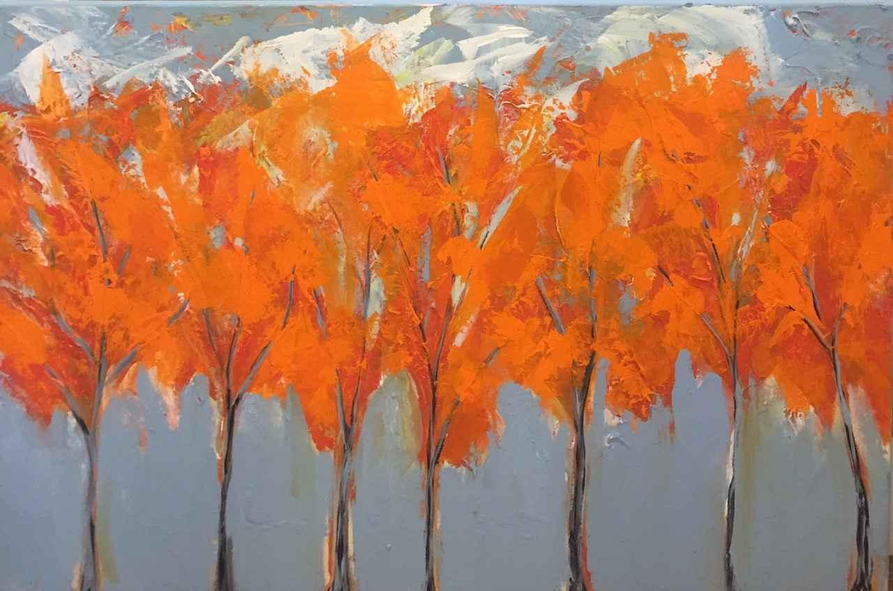 Autumn on the Bouleva... by  Steve Lyons - Masterpiece Online