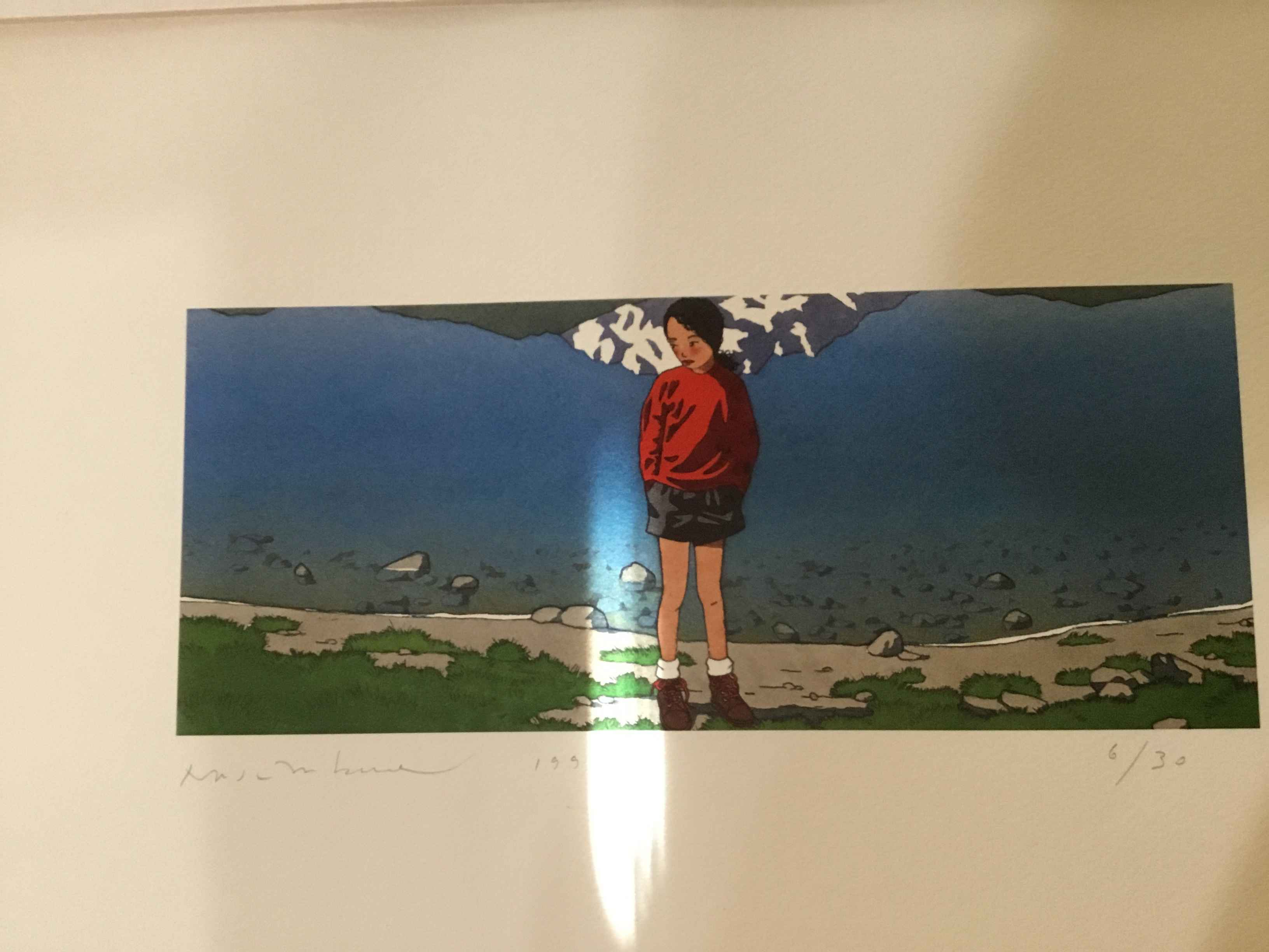 Hiking Y 4 OF 40  by  Yan Nascimbene Prints