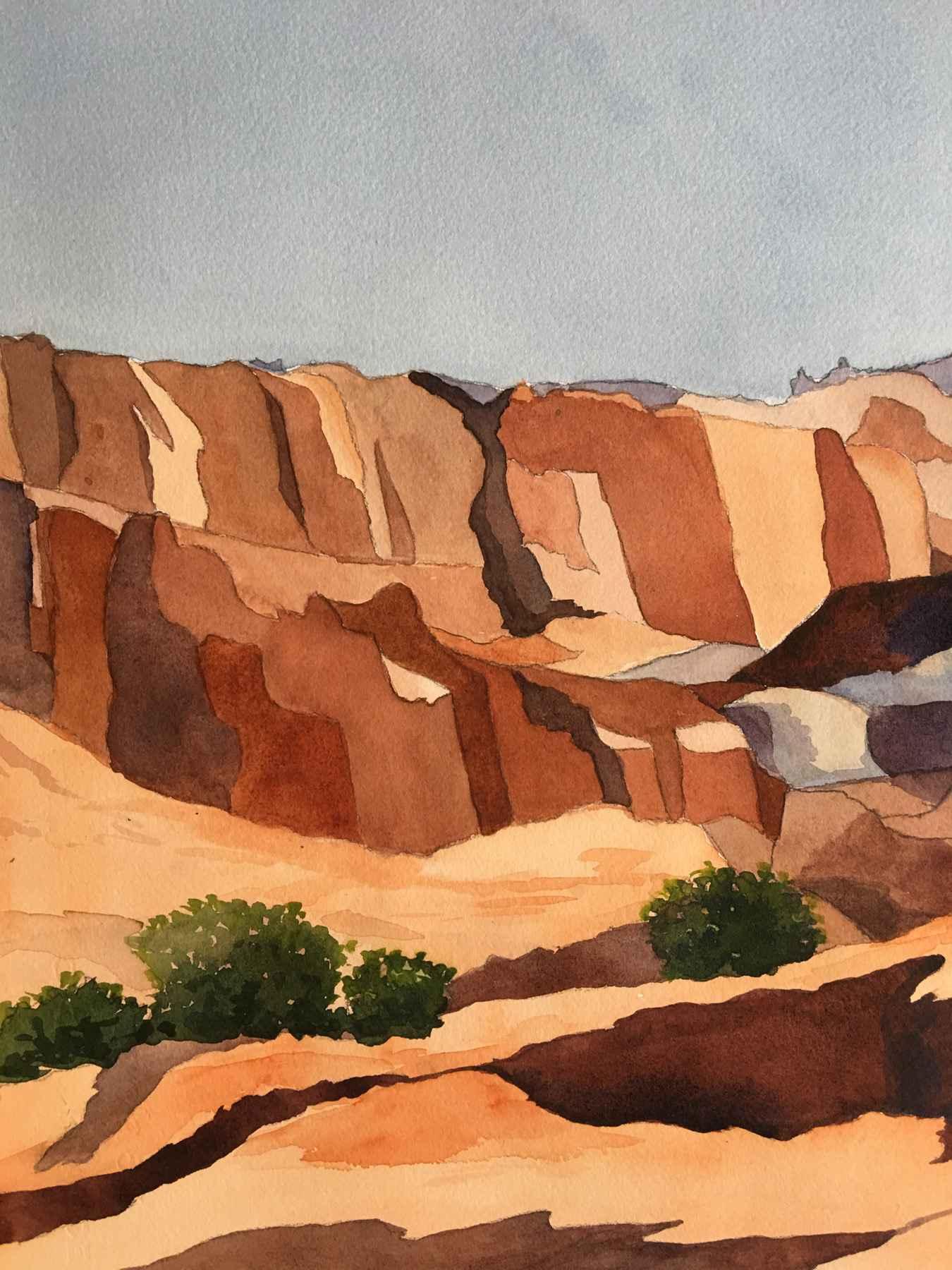 Capital Reef Mesa I by  Kay Sullivan - Masterpiece Online