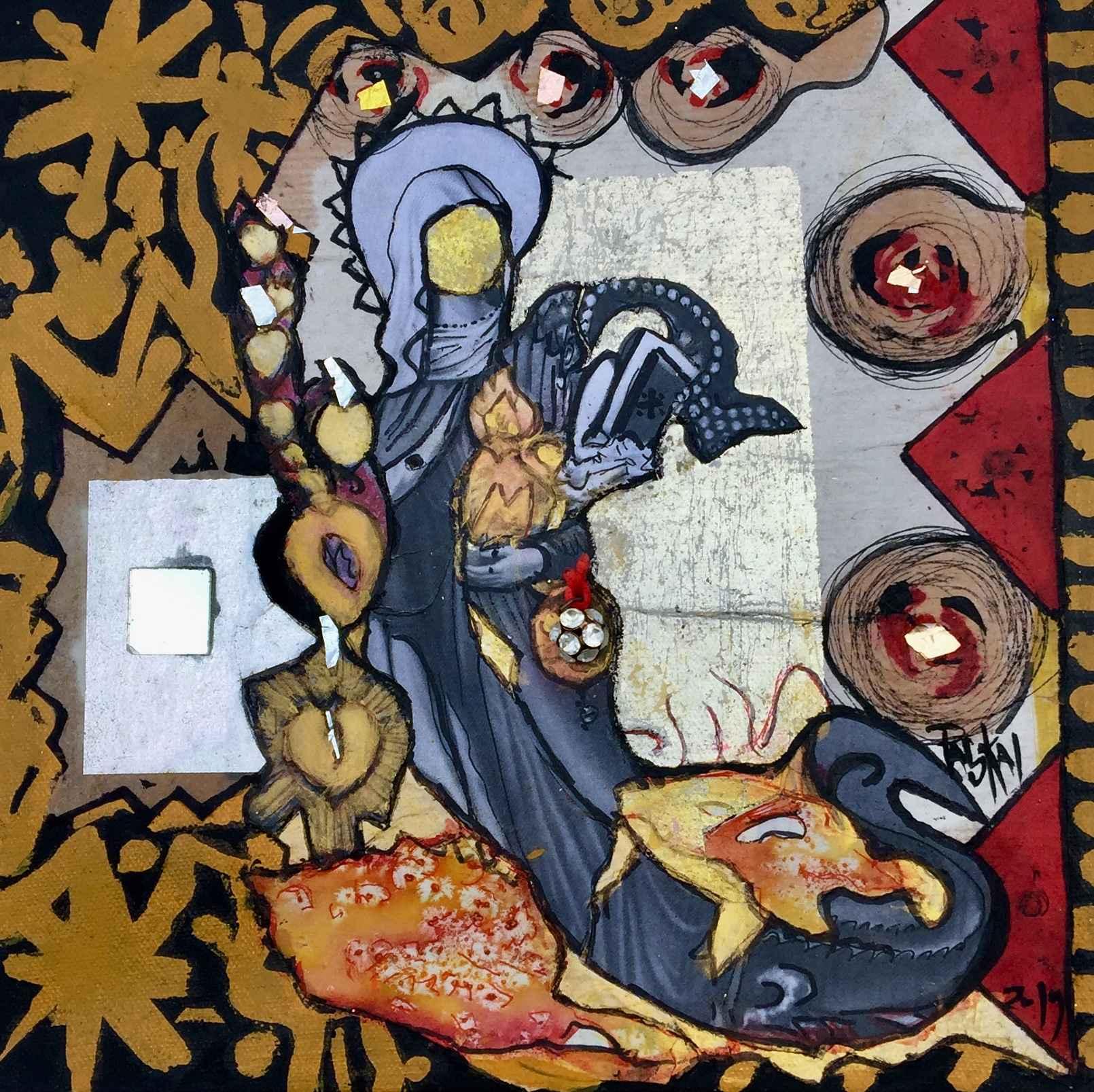 Fanm Pa Lavyej #19 by  Pascale FAUBLAS - Masterpiece Online