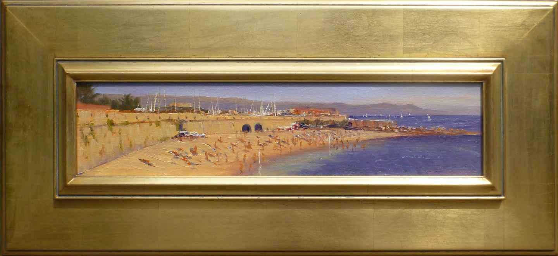 Beach at Antibes by Mr. Bill Berra - Masterpiece Online