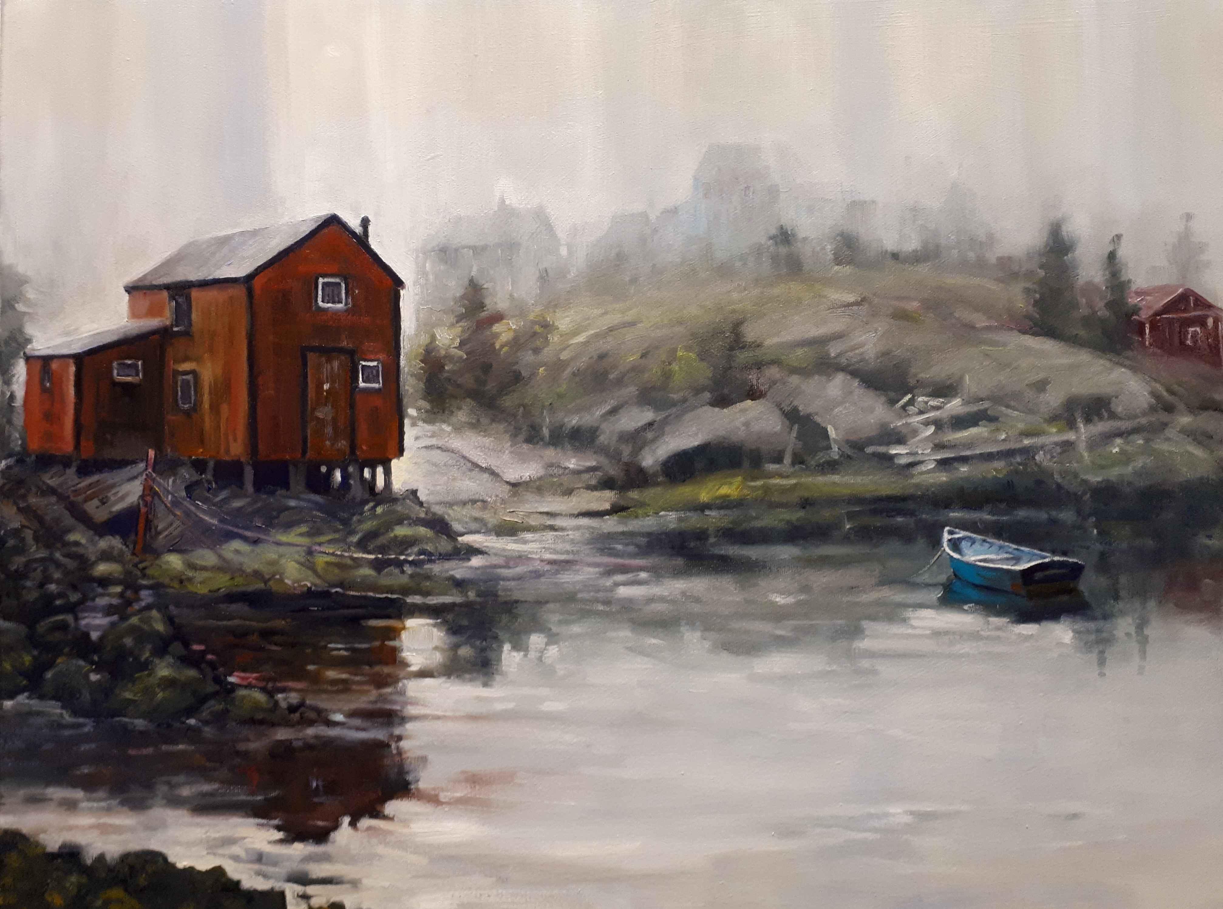 Fog Rising by  Rick McDiarmid - Masterpiece Online