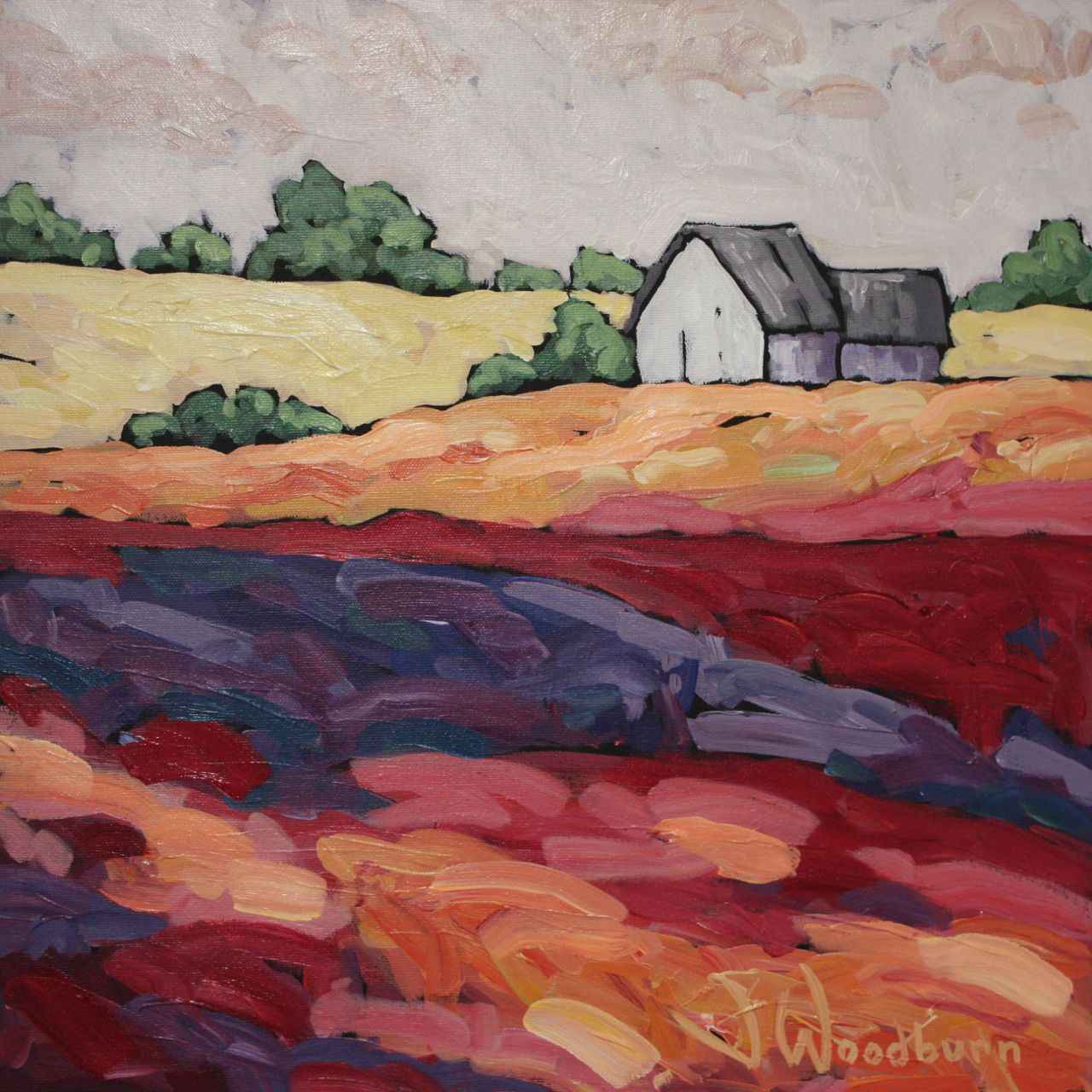 Country Reds by Ms Jennifer Woodburn - Masterpiece Online