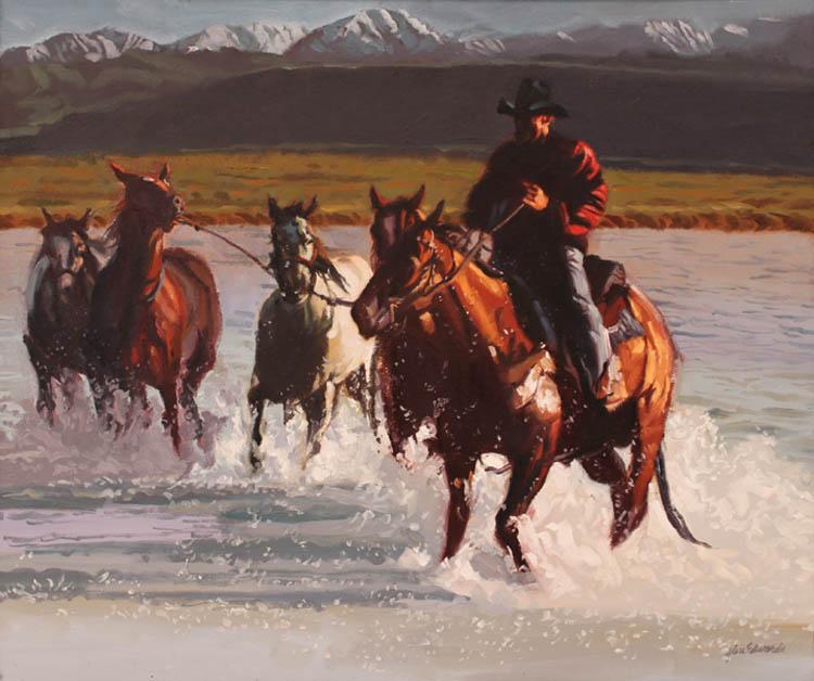 Utah Border by  Glen Edwards - Masterpiece Online