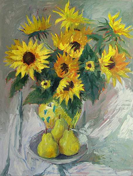 Sunflowers & Pears by  Dale Payson - Masterpiece Online