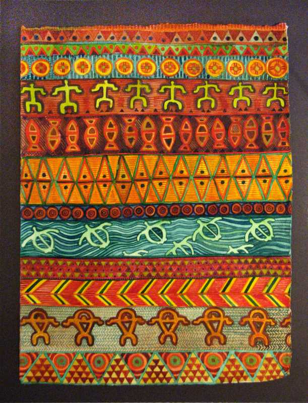 Kapa Patterns: earth ... by  Cindy Conklin - Masterpiece Online