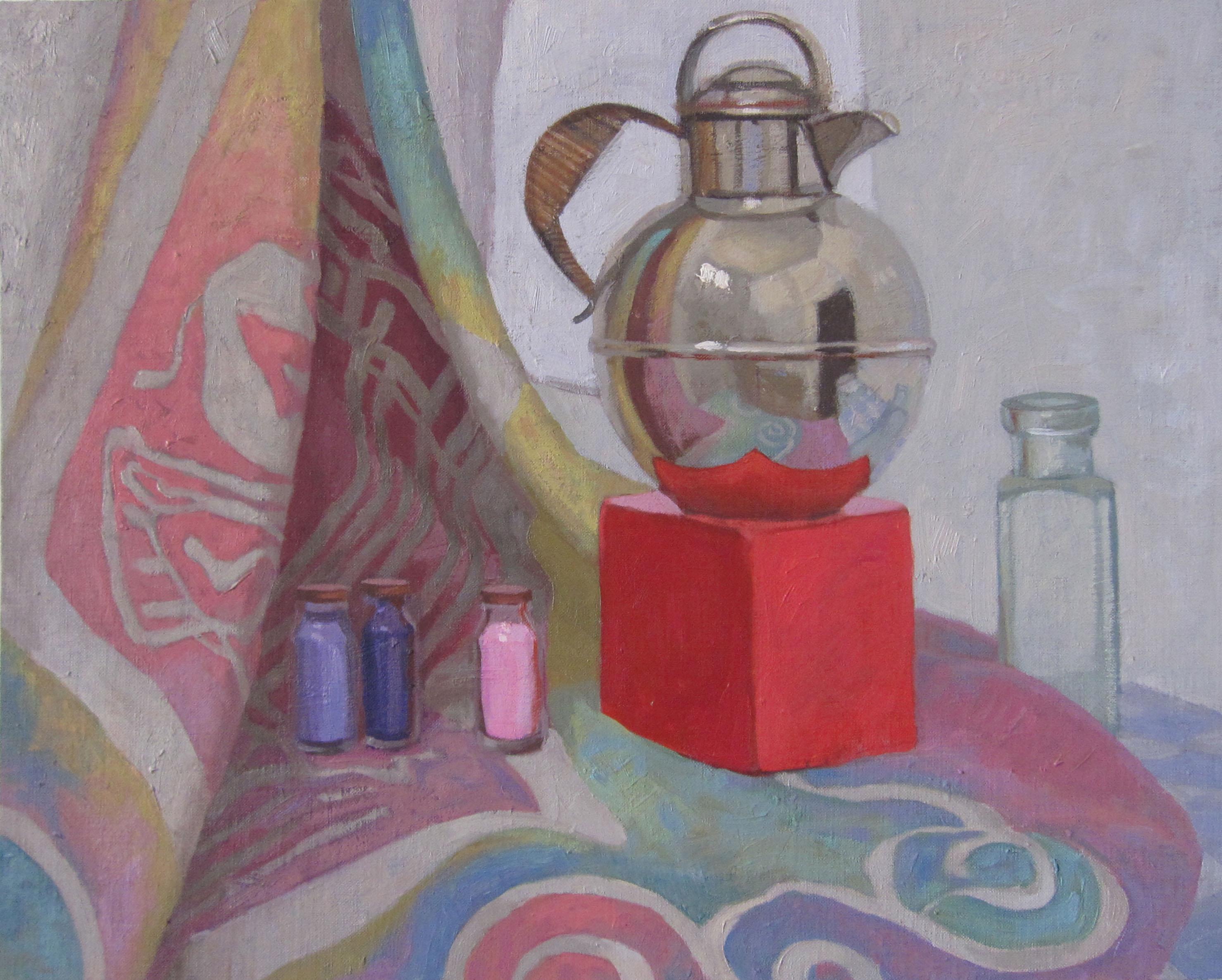 Silver Teapot, The by  Melissa Hefferlin - Masterpiece Online