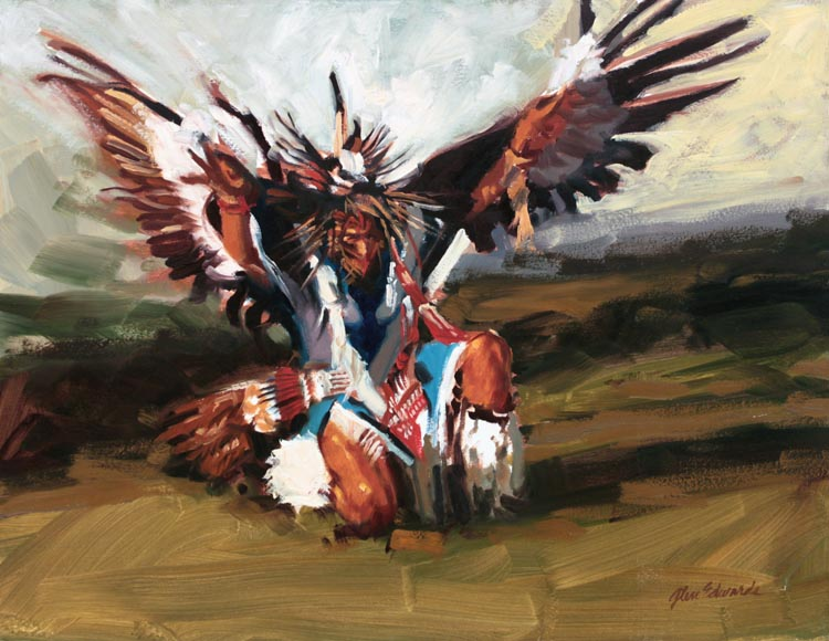 The Eagle by  Glen Edwards - Masterpiece Online