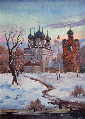 Winter Path by   Kuzin - Masterpiece Online