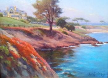 Pacific Grove Peomena... by  Sally  Jordan - Masterpiece Online