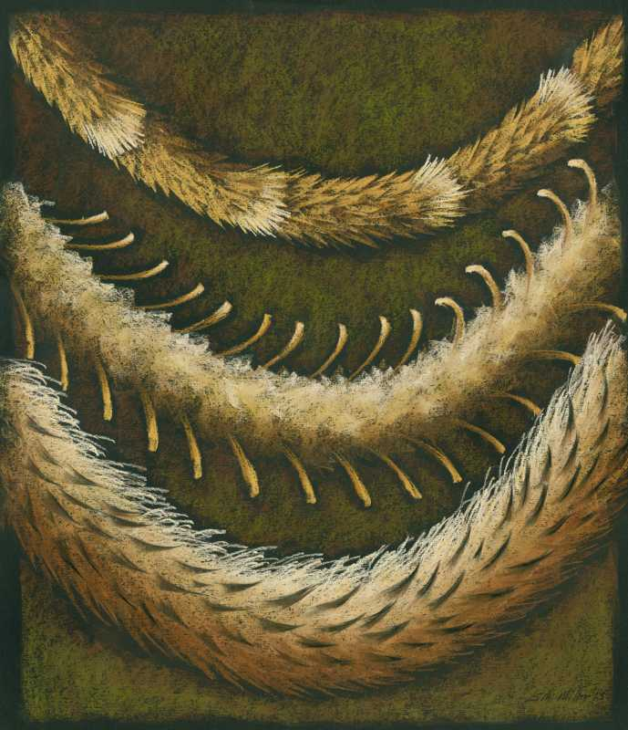 3 Feather Leis by  Shelley S. M. Miller - Masterpiece Online