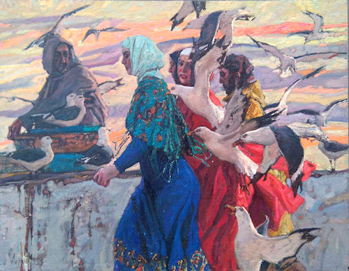 Essaouira Promenade 3 by  Daud Akhriev - Masterpiece Online