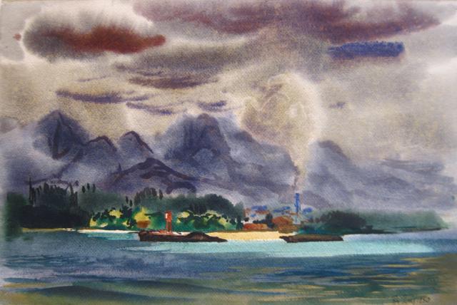 Tropic Heat Haleiwa by  Robert Benjamin Norris (1910-2006) - Masterpiece Online