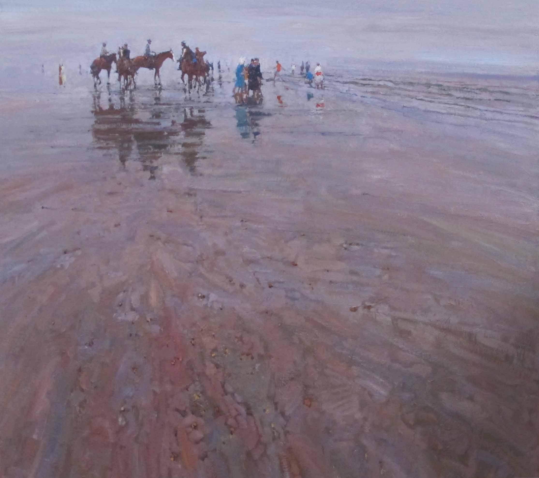 Beach Riders by  Daud Akhriev - Masterpiece Online
