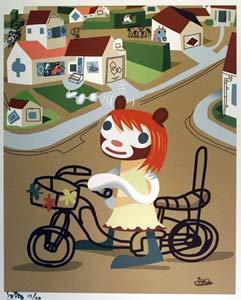 Hunni On Bike by    - Masterpiece Online