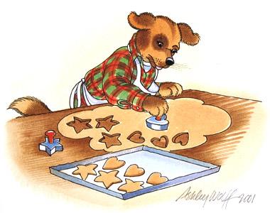 Danny Cuts Some Cooki...