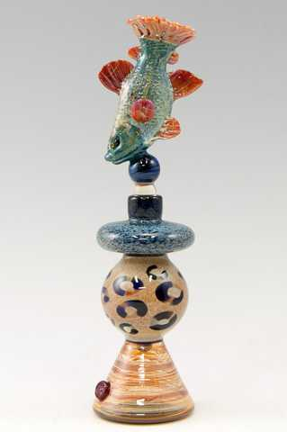 Perfume/Bluefish Leop... by  Laurie Young & Christian Arnold - Masterpiece Online