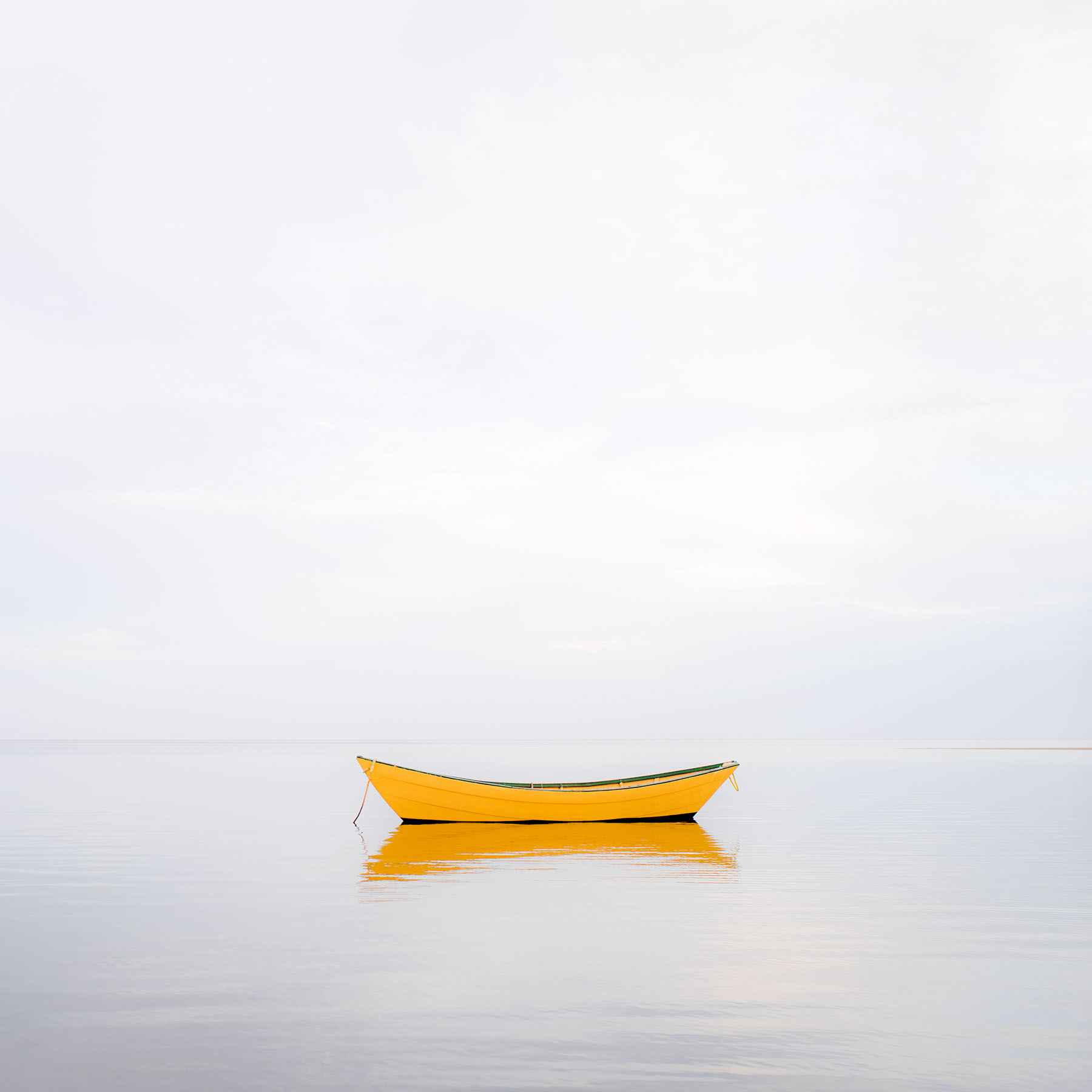 Yellow Boat 2014 S1 by  Alison Shaw - Masterpiece Online