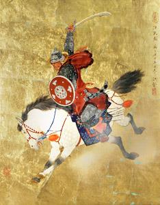 Mongolian Warrior At ... by  Mou-Sien Tseng - Masterpiece Online