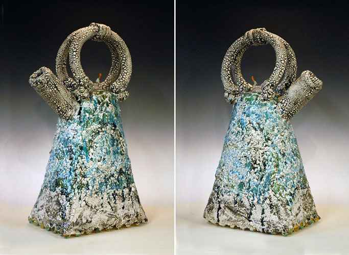 Ocean Foam Teapot by  Yoshiro Ikeda - Masterpiece Online