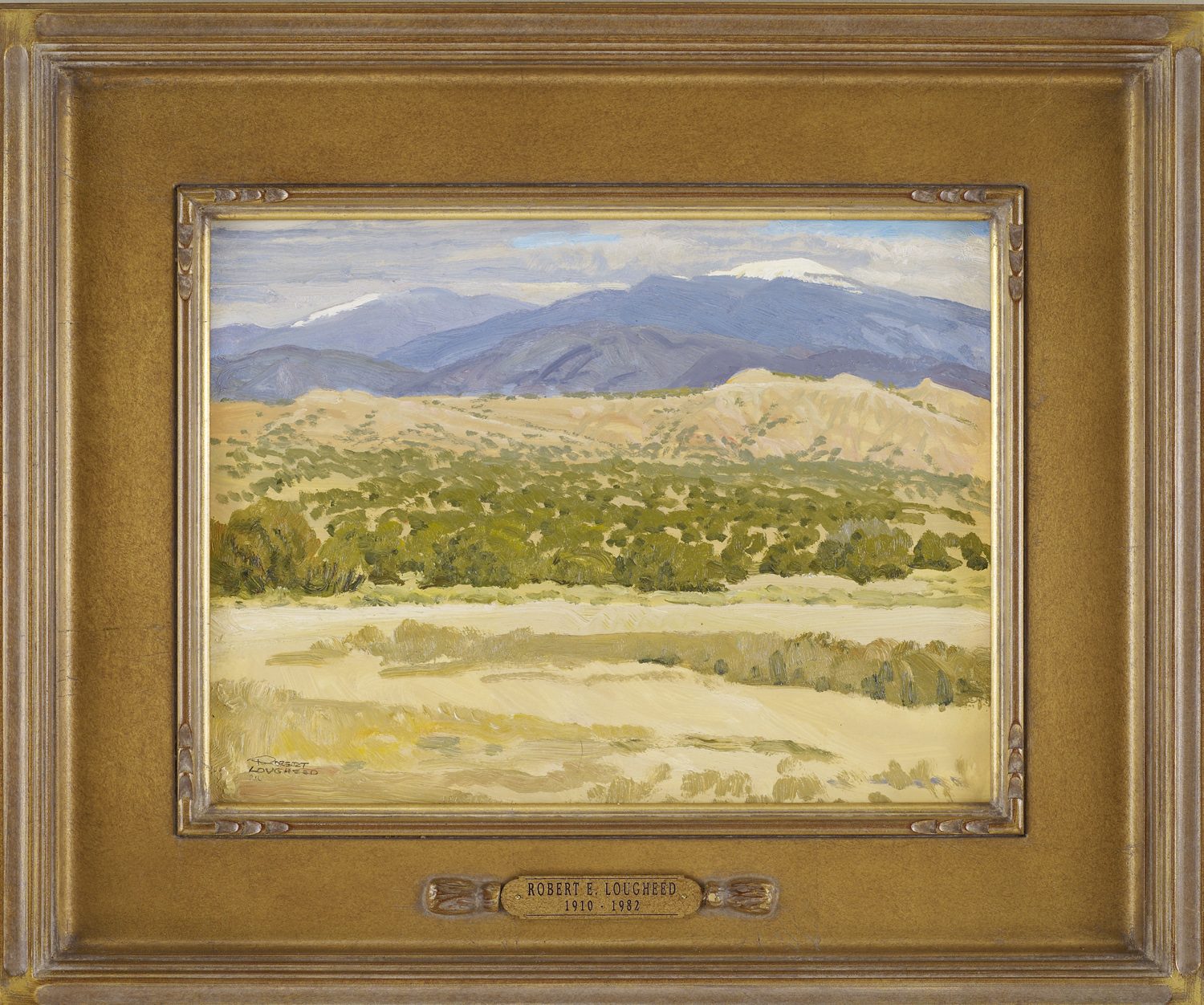 New Mexico Mountains by  Robert Lougheed - Masterpiece Online