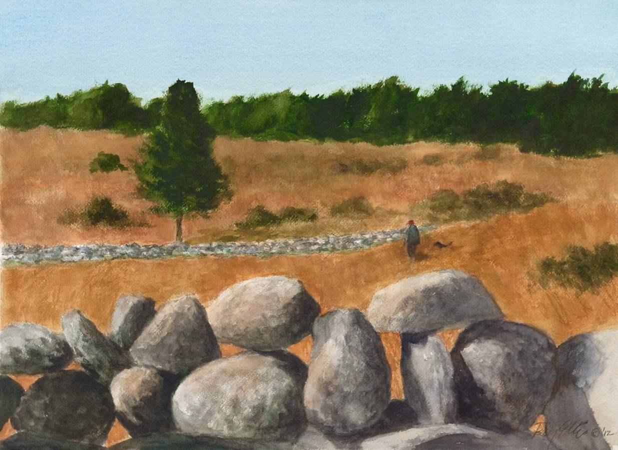 Stone Wall Field by  Ray Ellis - Masterpiece Online