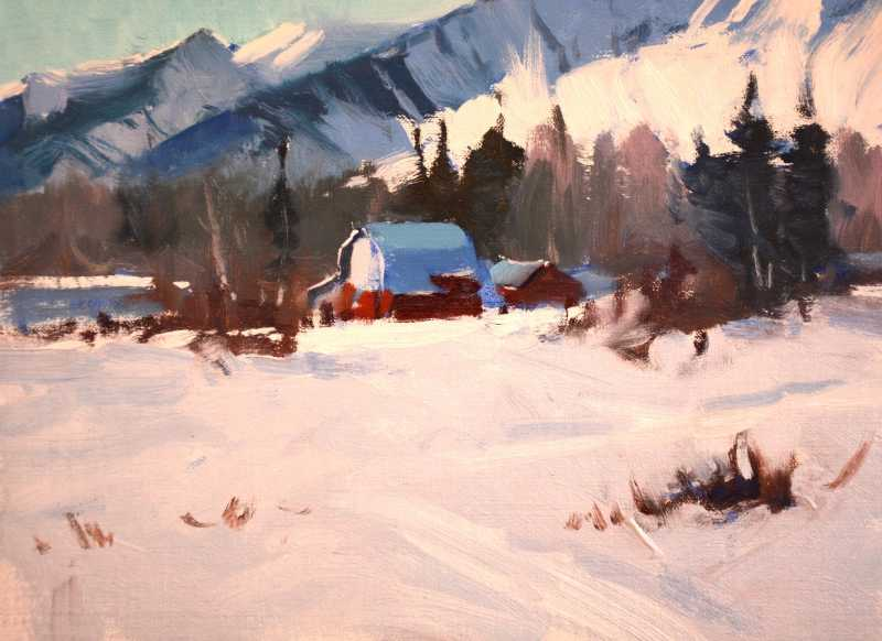 Fernie Valley by Mr Doug Swinton - Masterpiece Online