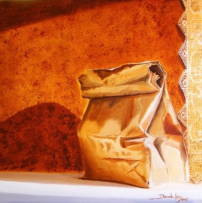 Brown Bag and Lace  by  Deborah Levy