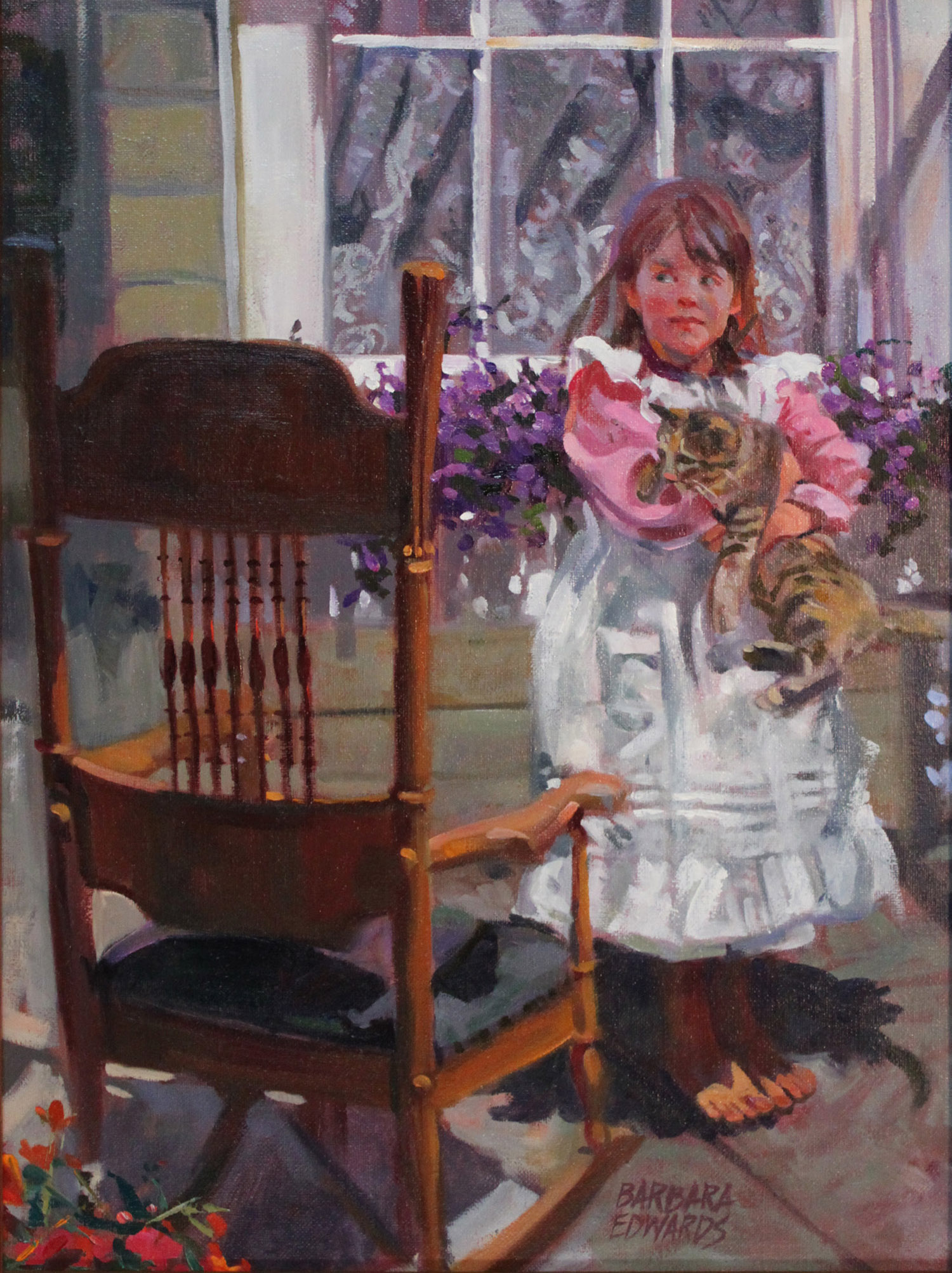 SOLD- Let Go That Ca... by  Barbara Summers Edwards - Masterpiece Online