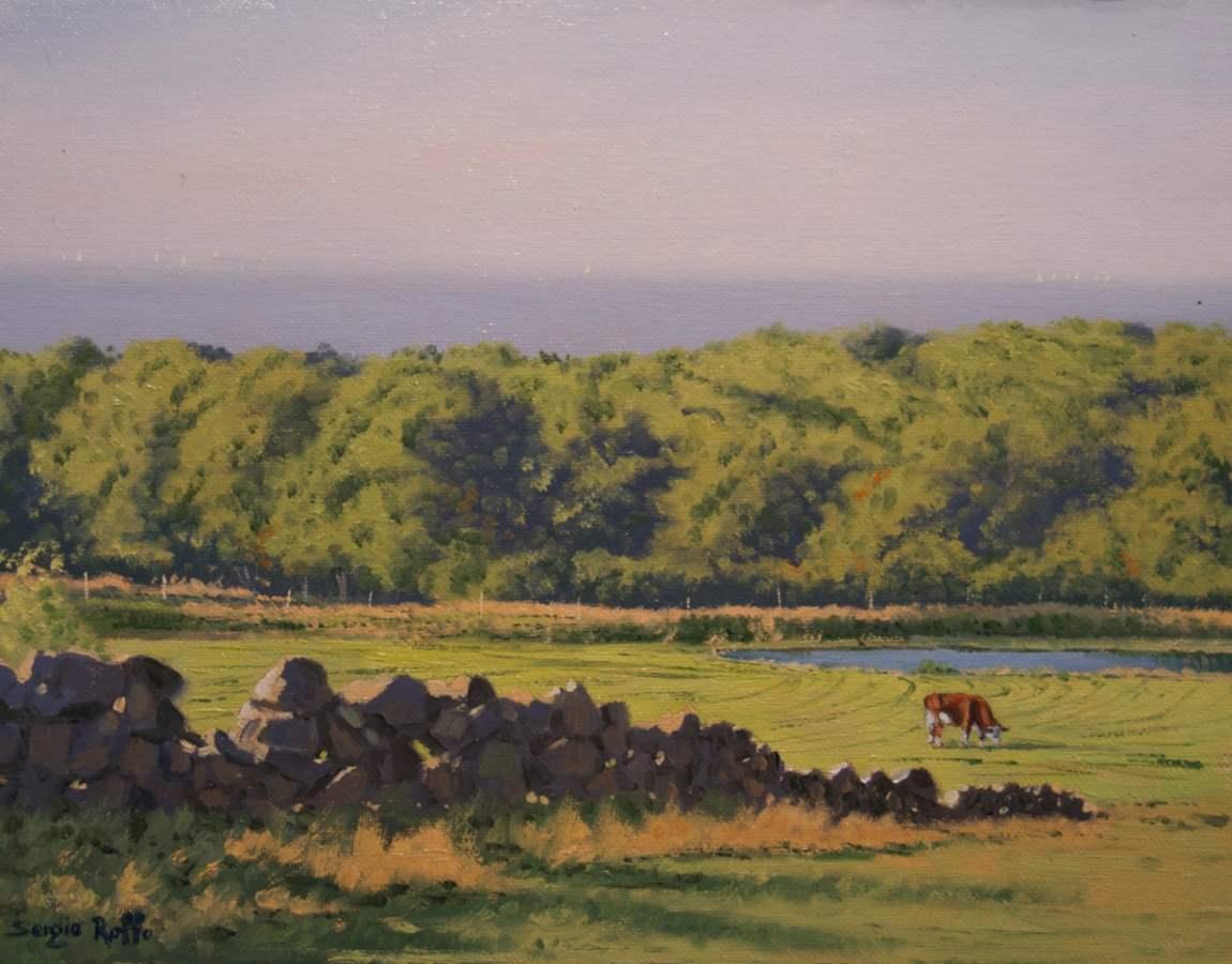 The Farm, Chilmark by  Sergio Roffo - Masterpiece Online