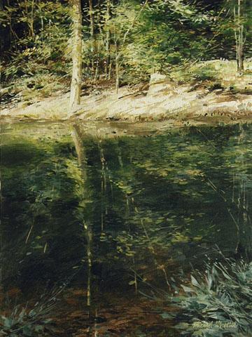Summer Reflections by  Michael Wheeler - Masterpiece Online