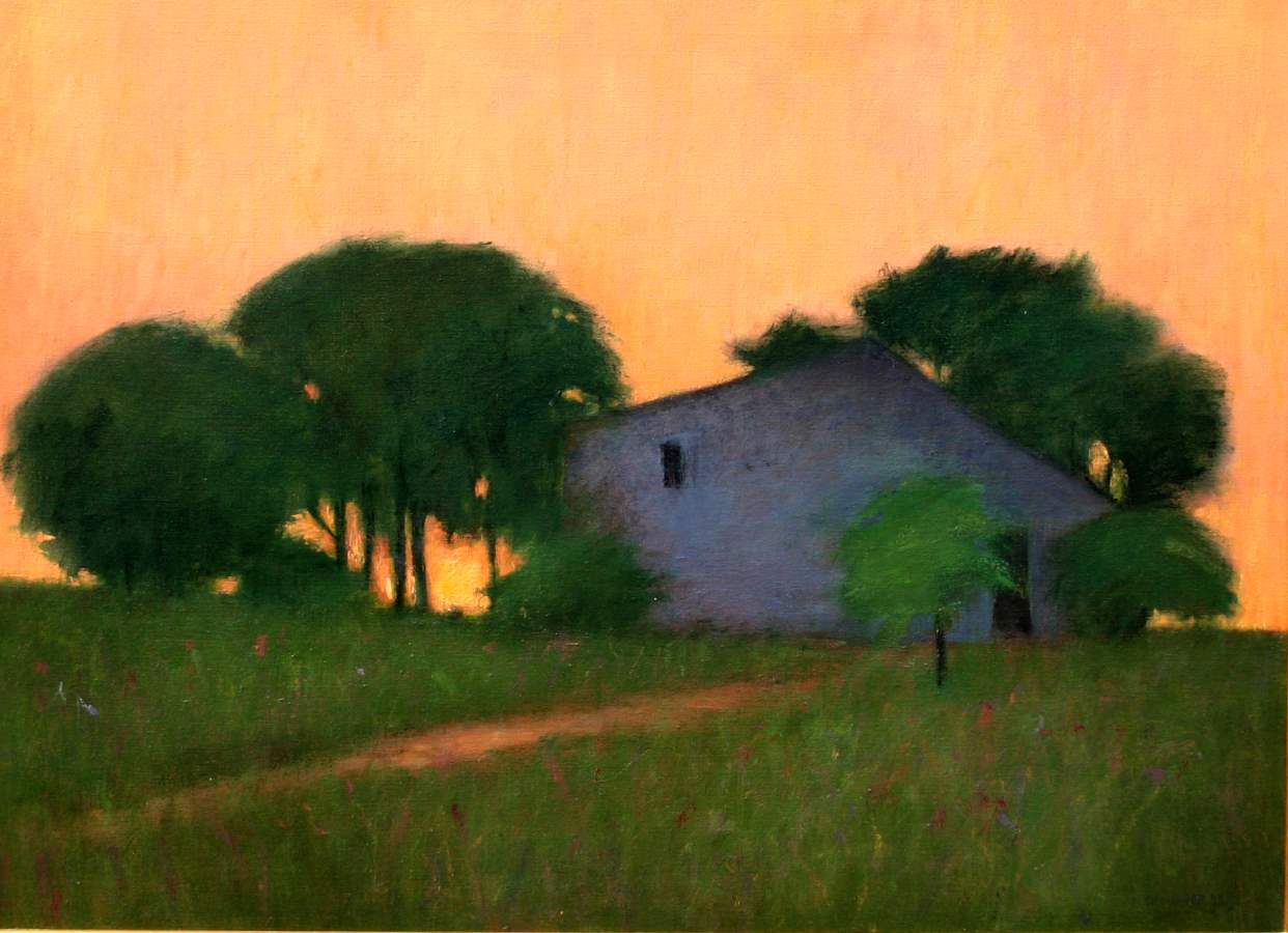 Barn at Sundown by  Mary Sipp Green - Masterpiece Online