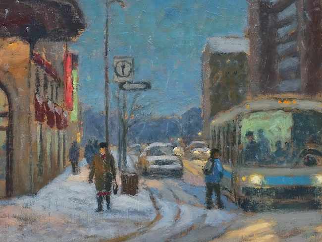 Corner Berri & Ste. C... by  Antoine Bittar - Masterpiece Online