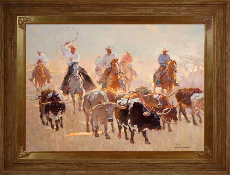 Long Horn Drive by  Xiang Zhang - Masterpiece Online